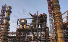 Объемная внепечная термообработка колонн Ачинск. Ремонтные технологии