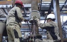 Термообработка сварных швов трубопровода. ГК РТ