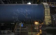 Ремонт мельницы цементного завода. Ремонтные технологии