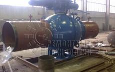 Местная термообработка сварных швов трубных узлов шаровых кранов. Ремонтные технологии