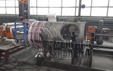 Термообработка толстостенного аппарата. Ремонтные технологии