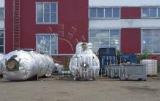 Объемная термообработка емкостей для фильтрации нефти. Ремонтные технологии